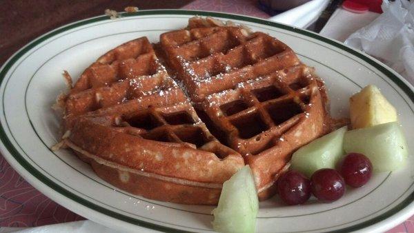 jackson's hole oatmeal waffles