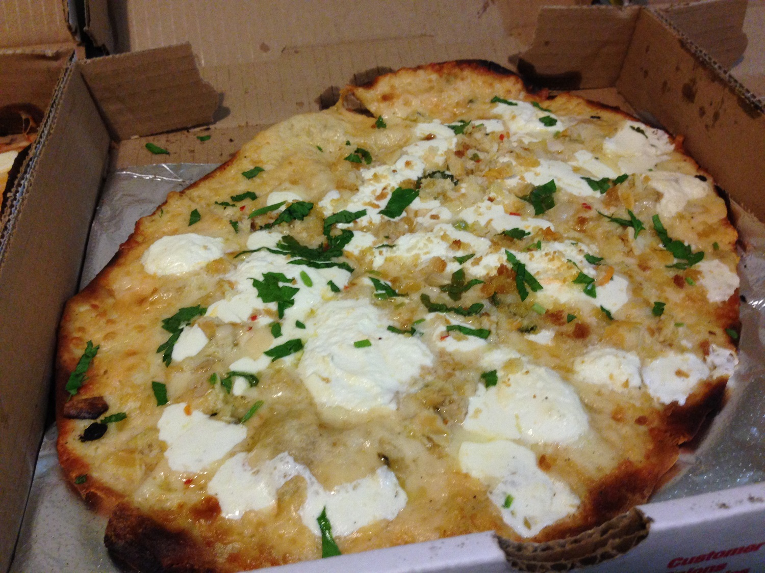 waldy's clam pizza