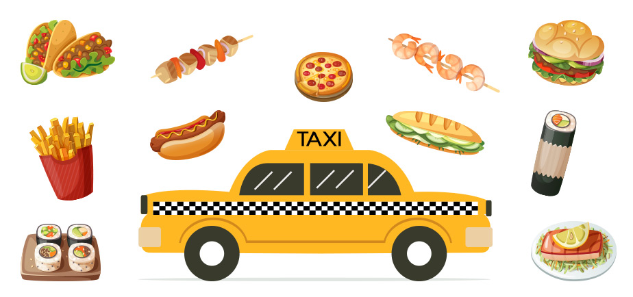 Your Lunch Need a Lift? DC Taxis Join delivery.com for Better, Faster Deliveries
