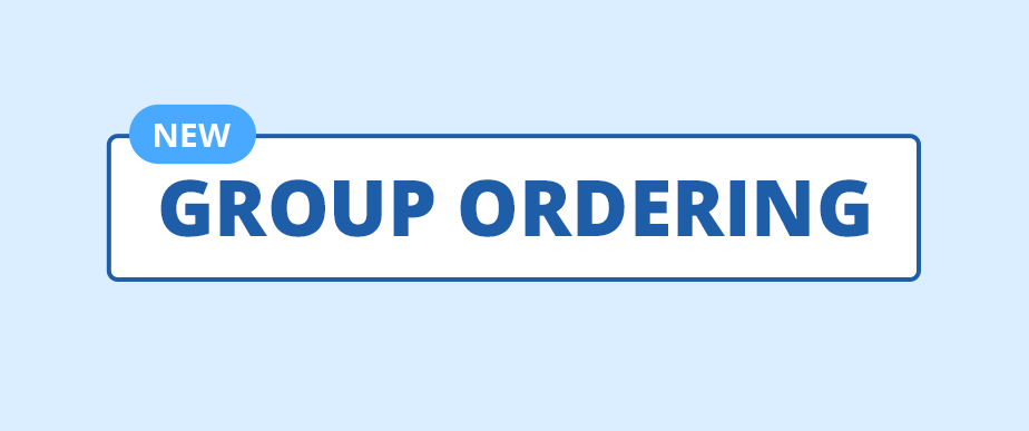 Group Ordering Now Available on delivery.com!