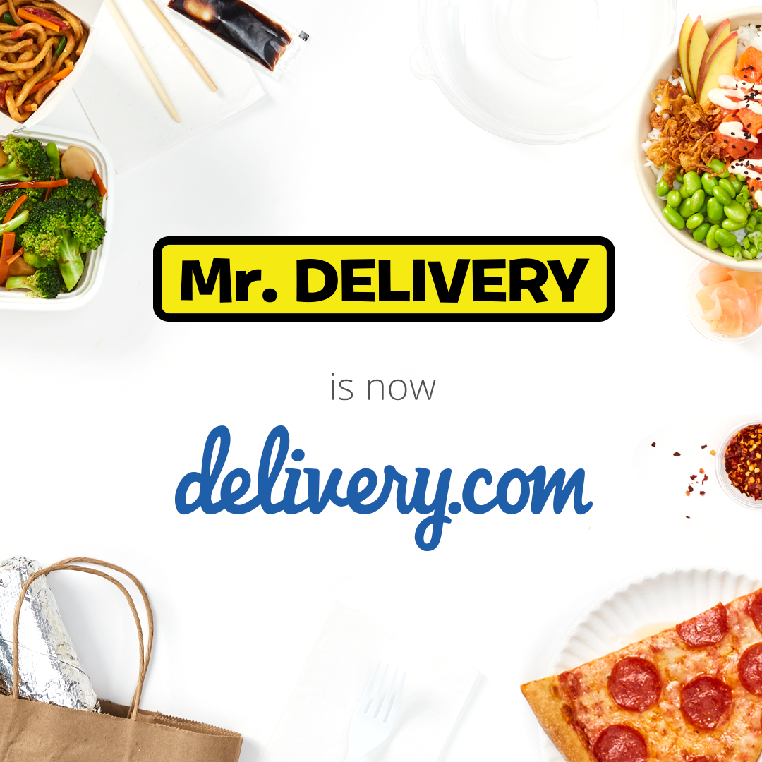 Mr. Delivery has joined the delivery.com family