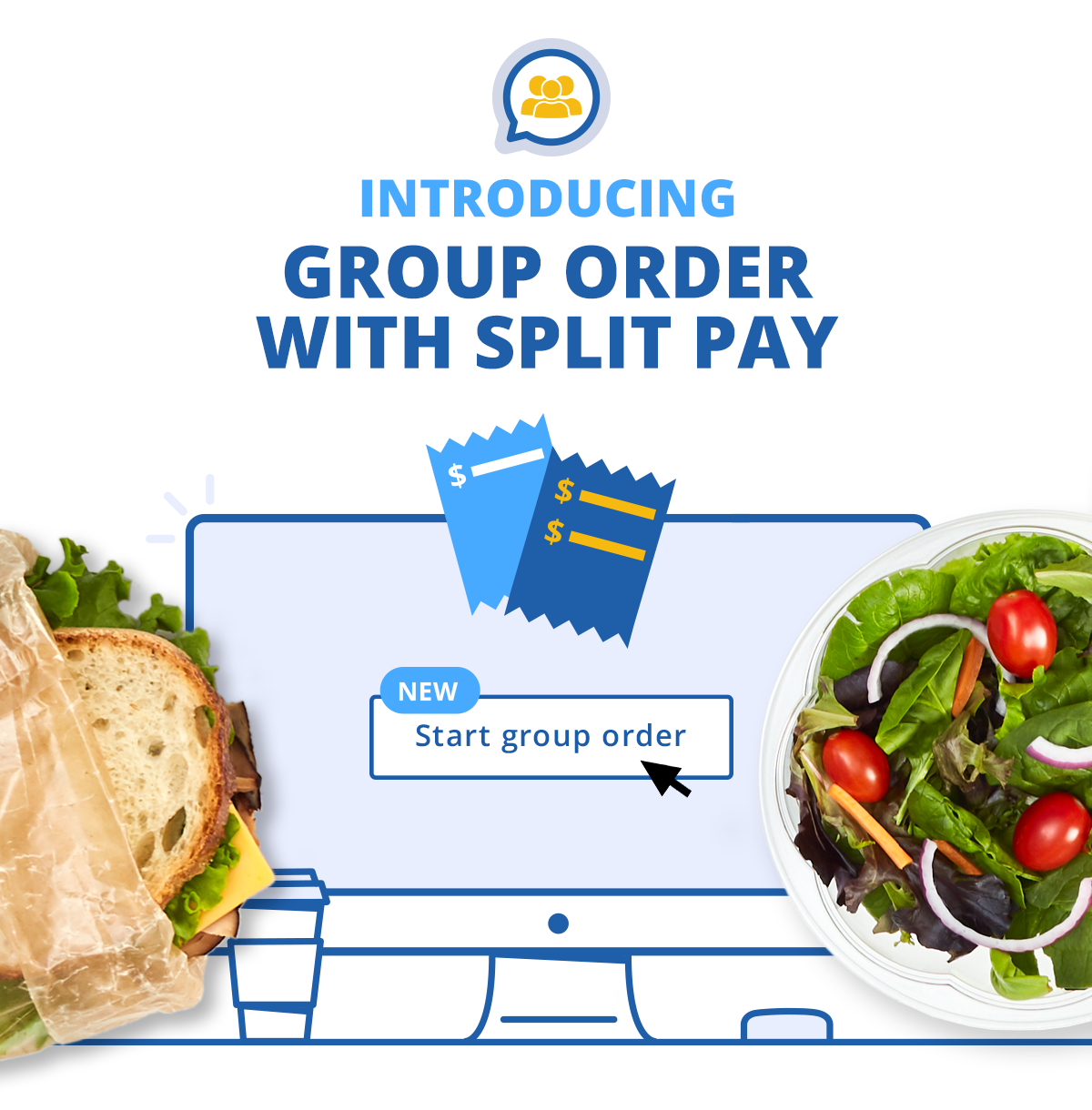 Introducing: Split Pay for Group Orders