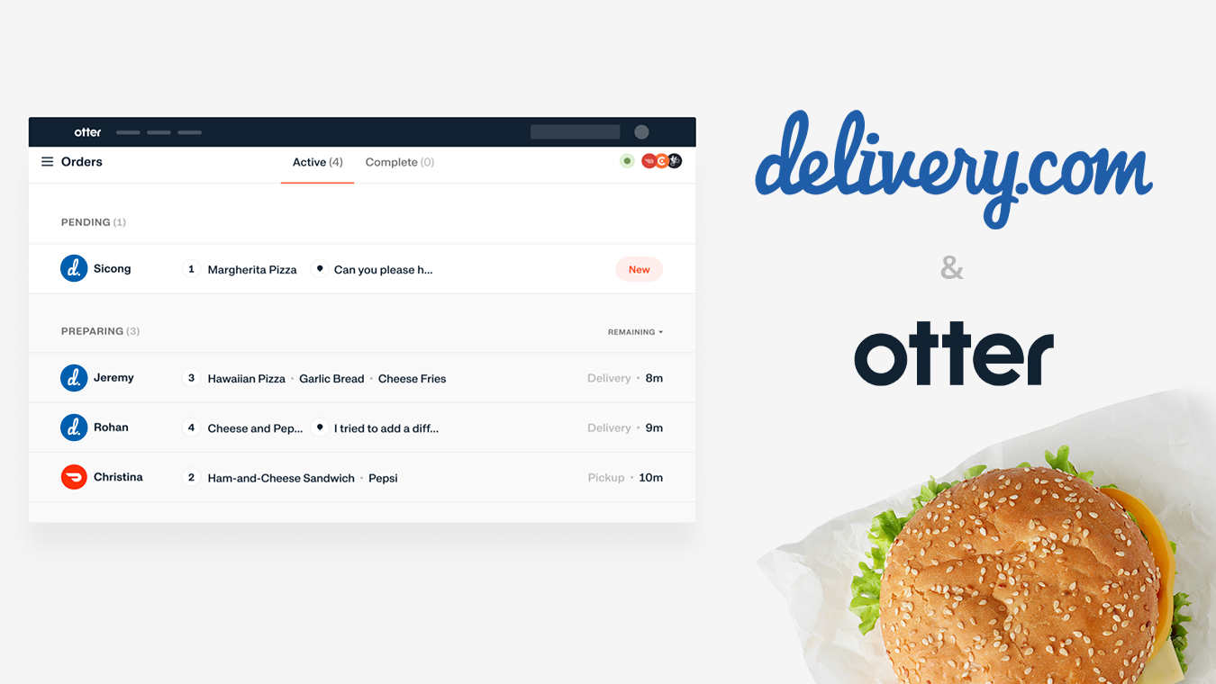 delivery.com + Otter